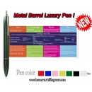 Promotional Metal Banner Pen 1201,Metal Flag Pen,Metal Scroll Pen